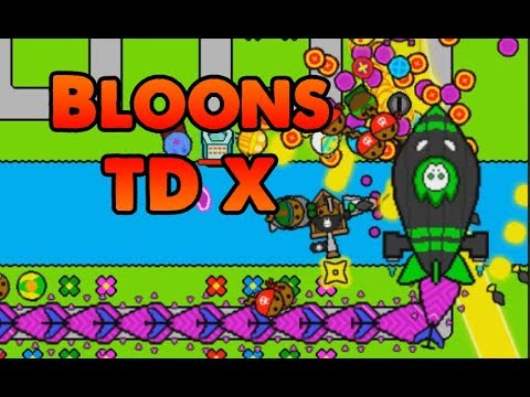 New Game - Bloons Tower Defense X