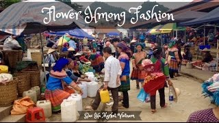 Bac Ha (Lao Cai) Vietnam  city pictures gallery : Bac Ha Market Vietnam with Flower Hmong Ethnic Group