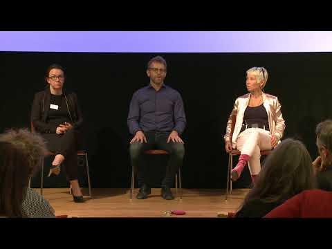 Paneldialog med Jenny Levin, Peter Martin och Jill Taube