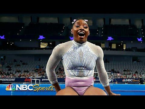 Simone Biles wins HISTORIC SEVENTH national title in dominating fashion | NBC Sports