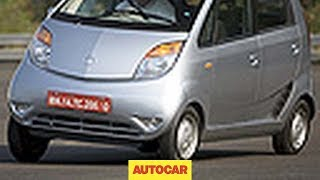Tata Nano driven by Autocar.co.uk