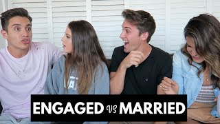 ENGAGED VS MARRIED CHALLENGE | CODY & LEXY