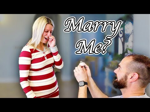 Asking Her To Marry ME!