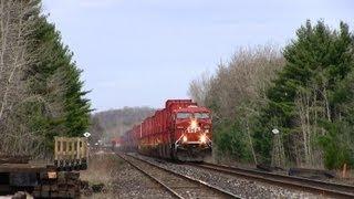 5 kilometrowy pociąg – 177 wagonów i 4 lokomotywy