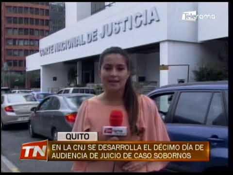 En la CNJ se desarrolla el décimo día de audiencia de juicio de caso Sobornos