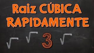 Video Método MÁGICO para Encontrar RAIZ CUBICA Rapidamente MP3, 3GP, MP4, WEBM, AVI, FLV November 2017
