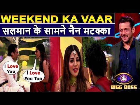 BiggBoss 14 Weekend Ka Vaar, Pavitra Confess her Love to Eijaz in front of salman,Nikki jaan breakup