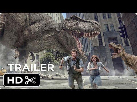 Jurassic World 3: Dominion (2021) Movie Trailer Teaser Concept - Chris Pratt, Jeff Goldblum