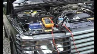 P38 Range Rover Battery Drain Test - Becm Sleep Test