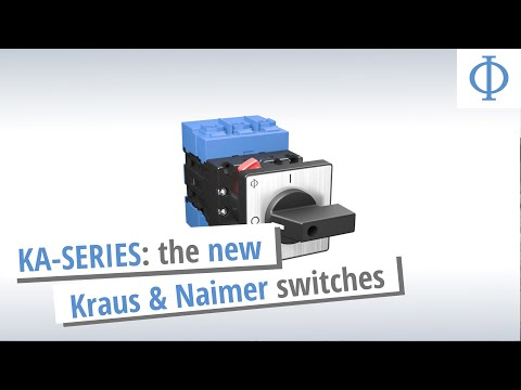 The new KA Switch by Kraus & Naimer
