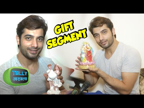 Gift Segment : Ssharad Malhotra Overwhelmed By Gif