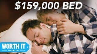 Video $150 Bed Vs. $159,000 Bed MP3, 3GP, MP4, WEBM, AVI, FLV Oktober 2018