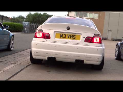 bmw e46 m3 exhaust comparison - oem vs. eisenmann vs. supersprint