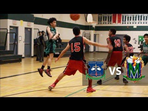 Bishop Allen vs Marshall | Junior Boys Basketball Highlights