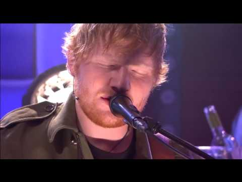 Ed Sheeran Performs How Would You Feel - First Live Perfomance (видео)