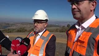 """Genel Müdür Poyraz, Söğüt Altın Madeni'nde konuştu """"İLK ALTIN KÜLÇEMİZİ 2022 SONUNDA DÖKECEĞİZ"""""""