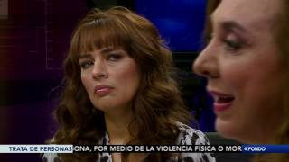 """A Fondo, con Julieta Mendoza: """"Trata de Personas"""""""