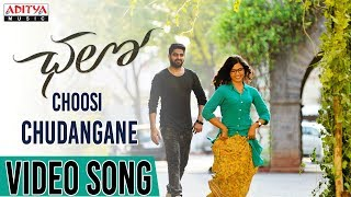 Video Choosi Chudangane Full Video Song || Chalo Movie || Naga Shaurya, Rashmika MP3, 3GP, MP4, WEBM, AVI, FLV Mei 2018