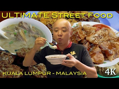 ULTIMATE MALAYSIAN STREET FOOD in Kuala Lumpur, backlane (Wai Sek Kai-为食街) Hidden Gem - Part 1