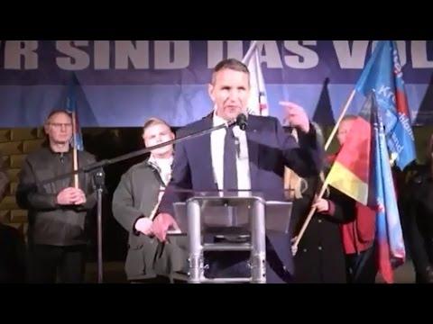 AfD: Der Thüringer AfD-Chef Björn Höcke  unterstützt di ...