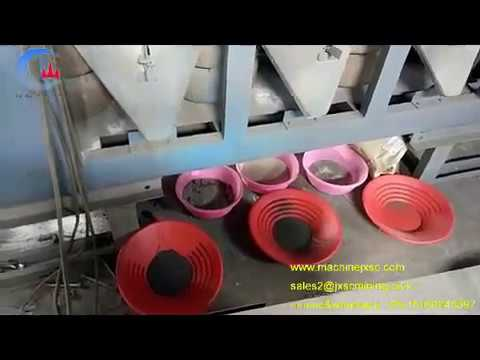 coltan ore refining machine  3pcs disc dry magnetic separator for coltan mining plant