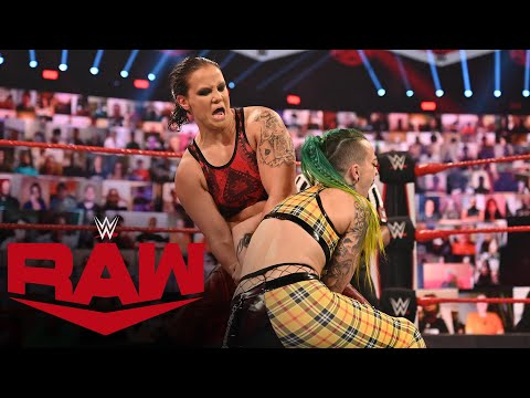 The Riott Squad vs. Shayna Baszler – 2-on-1 Handicap Match: Raw, September 7, 2020