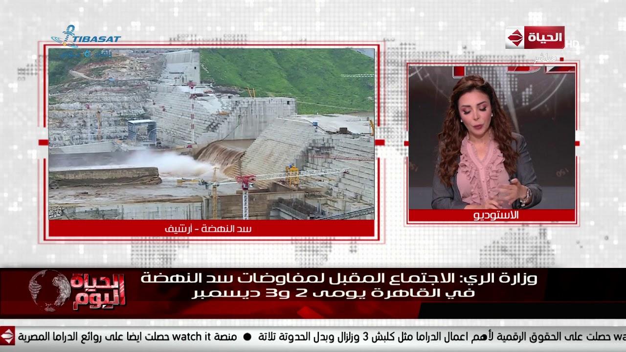 الحياة اليوم - وزارة الري: الاجتماع المقبل لمفاوضات سد النهضة في القاهرة يومى 2 و3 ديسمبر