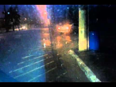chuva de granizo em Peruíbe 28/02/14