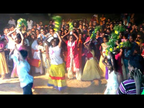 Karuppasamy nadagam|04/03/2019|little girls dancing after sprit coming|கன்னி சிறுமிகளின் சாமி ஆட்டம்