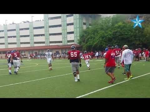 Saint Louis hosts scrimmage against Moanalua