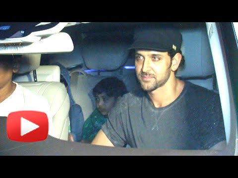 Hrithik Roshan's Night Out With His Kids
