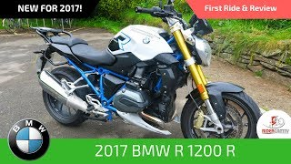 8. 2017 BMW R1200R - First Ride and Review
