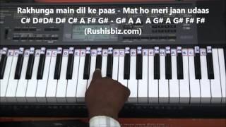 Video Dilke Jharokhe Mein Tujkho Bithakar - Piano Tutorials download in MP3, 3GP, MP4, WEBM, AVI, FLV January 2017