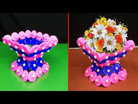 2019-01-30 ... & Gorgeous DIY Flower Vase Out Of Waste Cardboard an | Youtube Search ...