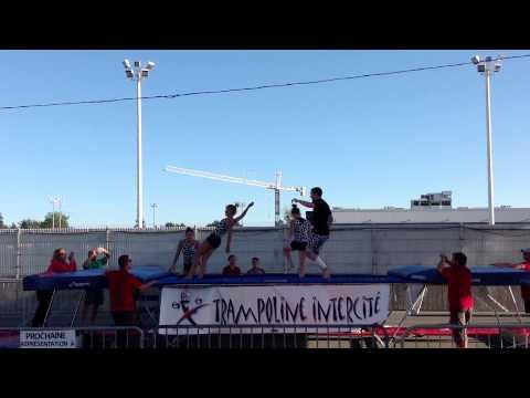 Spectacle Trampoline Intercité Expo T-R