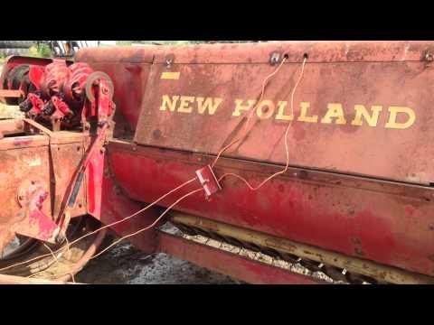 hay 67 new manual baler holland
