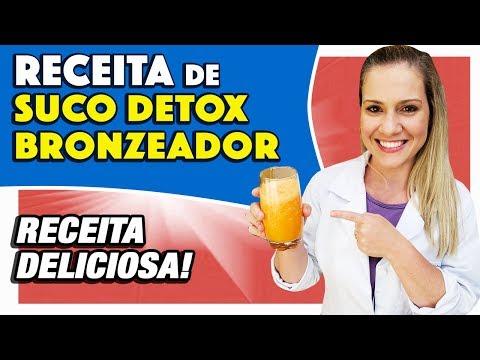 Nutricionista - Suco Detox Bronzeador [SAUDÁVEL, FÁCIL e GOSTOSO]