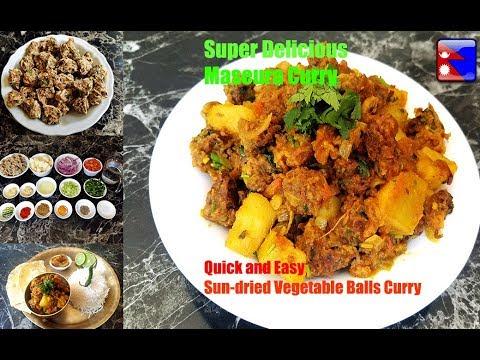 (एक पटक खानै पर्ने नेपालीहरुको प्यारो घरेलु मस्यौराको तरकारी |Traditional Nepali Masaura Curry| Ep.86 - Duration: 6 minutes, 57 seconds.)