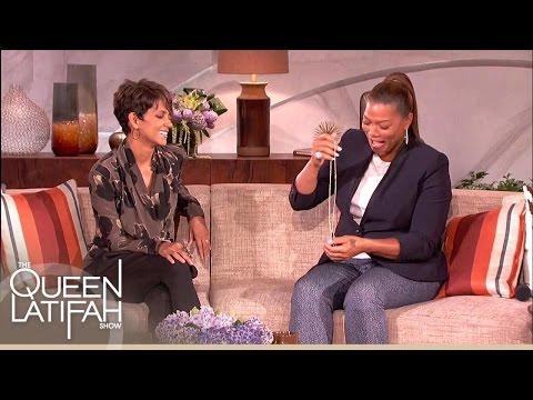 Halle Berry's Gift to Queen Latifah on The Queen Latifah Show