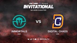Immortals против Digital Chaos, Первая карта, NA квалификация SL i-League Invitational S3