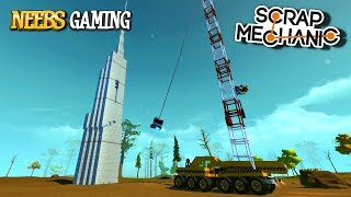 """Scrap Mechanic Destruction. It's time to build Wrecking Ball Cranes► Subscribe for more Scrap Mechanic  http://bit.ly/1NOKqlUAbou De7em - Zorro's Workshop Skyscraperhttp://steamcommunity.com/sharedfiles/filedetails/?id=724554360► Neebs Gaming is powered Xidax PCs, check them out here!     http://mbsy.co/gFZJH►https://Twitch.tv/NeebsgamingT-Shirts►https://Hankandjed.Spreadshirt.com/Buy Our Music►http://bit.ly/1LiDPfV►Facebook - https://www.Facebook.com/NeebsGaming►Twitter - https://Twitter.com/Neebsofficial► http://www.neebsgaming.netScrap Mechanic Playlist:https://www.youtube.com/playlist?list=PL1Uou2DWH7IEuL5HsDWNZu5XORmbjKr6dScrap Mechanic Music:""""Neebs Gaming Intro"""" - by Hank and Jed © Copyright - Hank and Jed / Hank and Jed (889211211401)Cortosis - Scoring Action by Kevin MacLeod is licensed under a Creative Commons Attribution license (https://creativecommons.org/licenses/by/4.0/)Source: http://incompetech.com/music/royalty-free/index.html?isrc=USUAN1100815Artist: http://incompetech.com/Gypsy Shoegazer by Kevin MacLeod is licensed under a Creative Commons Attribution license (https://creativecommons.org/licenses/by/4.0/)Source: http://incompetech.com/music/royalty-free/index.html?isrc=USUAN1200073Artist: http://incompetech.com/Songs by Silent Partner:High School HeroHookah BarPassive StruggleSugar ZoneTrooperReggie and the Dubwisemen by: Jingle PunksThe Urban Symphonia by: Unicorn Heads""""Wingy Dang-Dang"""" - by Hank and Jed © Copyright - Hank and Jed / Hank and Jed (888174285504)Thanks for watching Scrap Mechanic Wrecking Ball Cranes"""