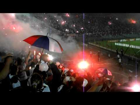 Nacional vs América Copa Libertadores 2011 - La Banda del Parque Recibimiento impresionante - La Banda del Parque - Nacional