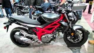 7. 2013 Suzuki SFV 650 Gladius ABS - Walkaround - 2013 Quebec Motorcycle Show