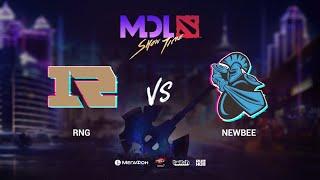 RNG vs Newbee, MDL Macau 2019, bo3, game 3 [Mael & Jam]