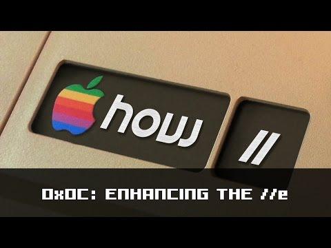 How II 0x0C:  Enhancing an Apple IIe