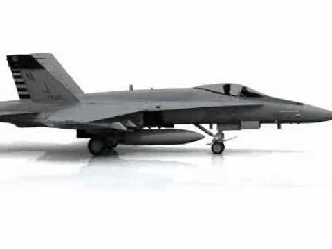 Animation of the Boeing F/A-18E/F...