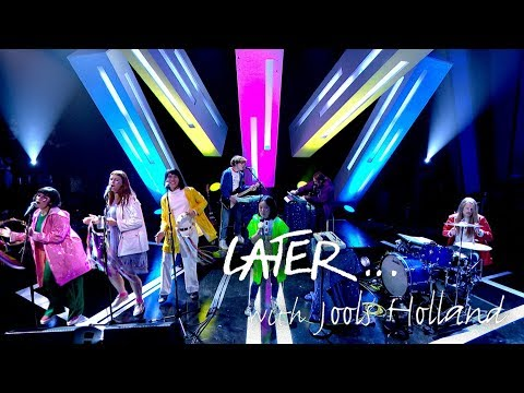 VIDEO: SUPERORGANISM - 'Something For Your M.I.N.D' (Later… with Jools Holland)