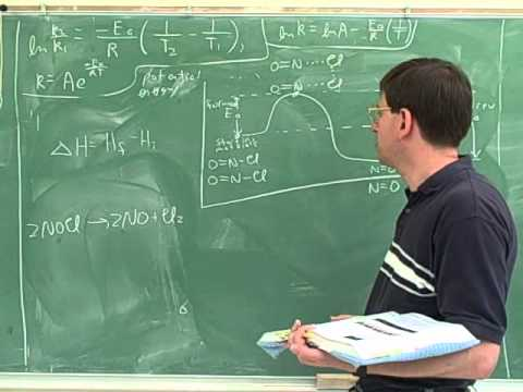 Arrhenius equation. Activation energy (11)