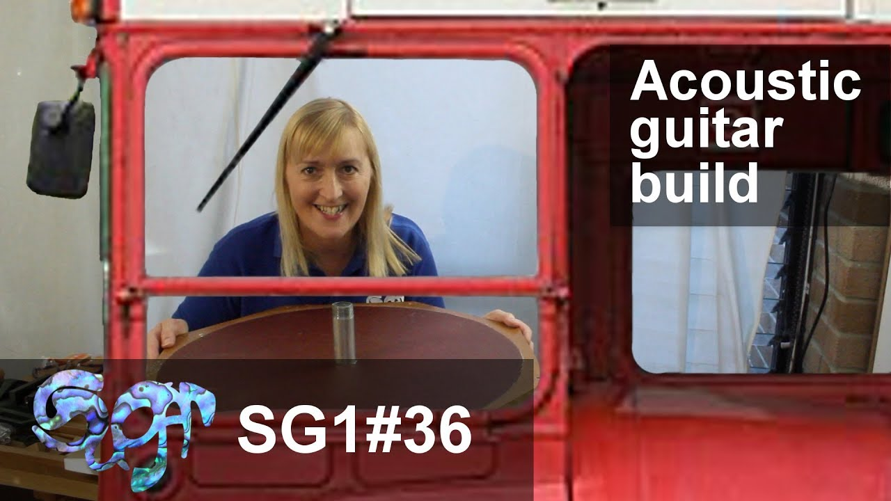 SuGar SG1 acoustic guitar build part 36: Steering the bus