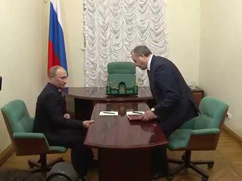 Владимир Путин в Саратове. видео (видео)
